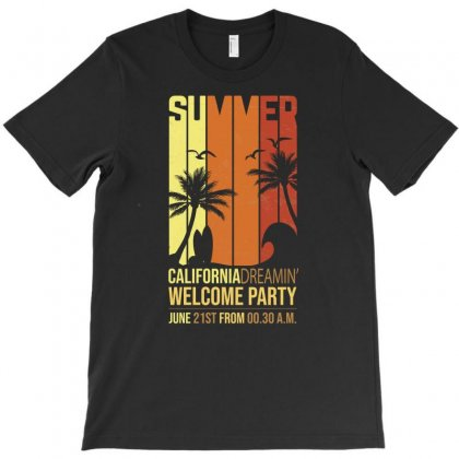 California Dremin Welcome Party T-shirt Designed By Tudtoojung