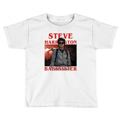 Steve Harrington Babysitter Toddler T-shirt Designed By Sengul
