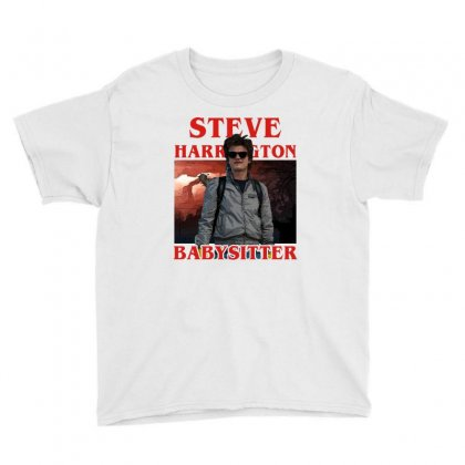Steve Harrington Babysitter Youth Tee Designed By Sengul