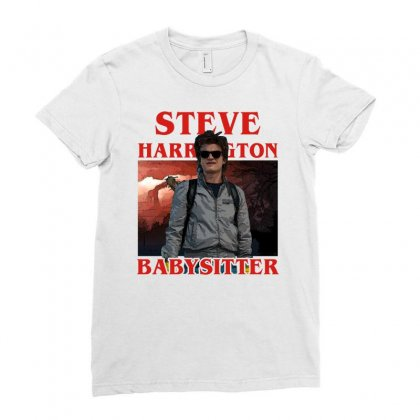 Steve Harrington Babysitter Ladies Fitted T-shirt Designed By Sengul