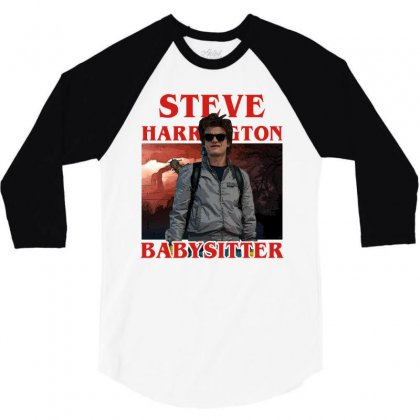 Steve Harrington Babysitter 3/4 Sleeve Shirt Designed By Sengul