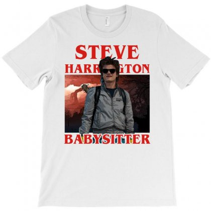Steve Harrington Babysitter T-shirt Designed By Sengul