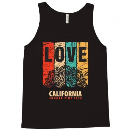 Love California Summer Time 2020 Tank Top Designed By Tudtoojung