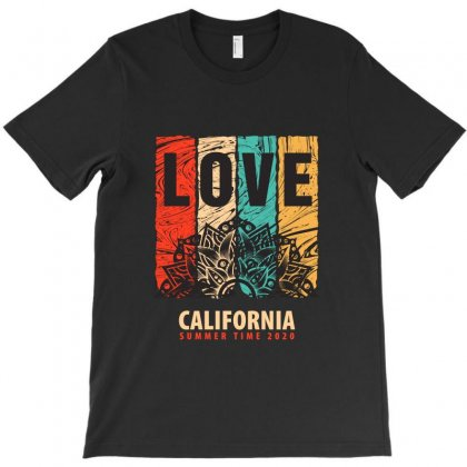 Love California Summer Time 2020 T-shirt Designed By Tudtoojung