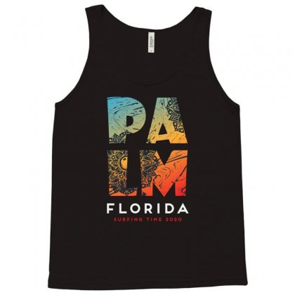 Palm Florlida Surfing  Time 1999 Tank Top Designed By Tudtoojung