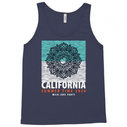 California Summer Time 2020 Wild Love Party Tank Top Designed By Tudtoojung