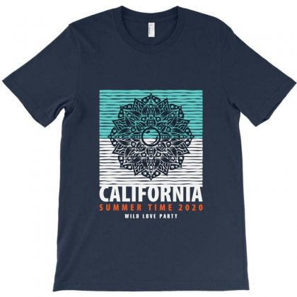 California Summer Time 2020 Wild Love Party T-shirt Designed By Tudtoojung