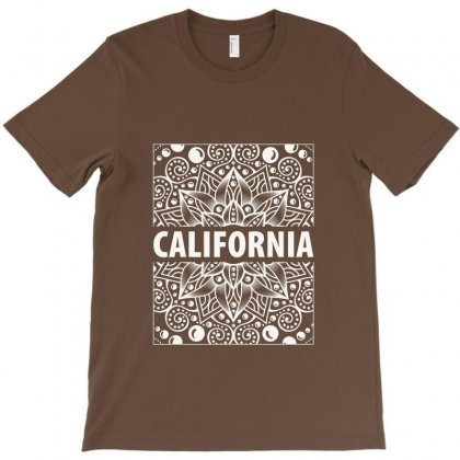 California White Vintage T-shirt Designed By Tudtoojung