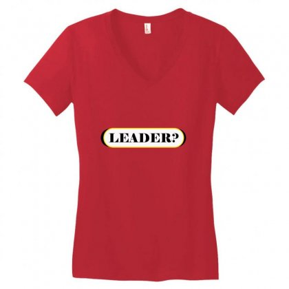 Lead Women's V-neck T-shirt Designed By Maxamed Cali