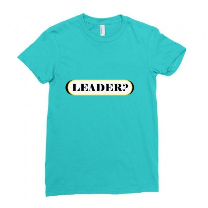 Lead Ladies Fitted T-shirt Designed By Maxamed Cali