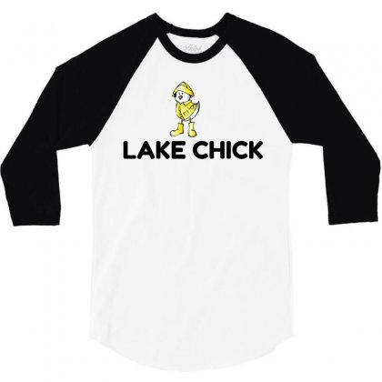 Lake Chick 3/4 Sleeve Shirt Designed By Perfect Designers