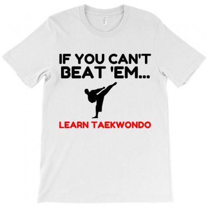 Learn Taekwondo T-shirt Designed By Perfect Designers