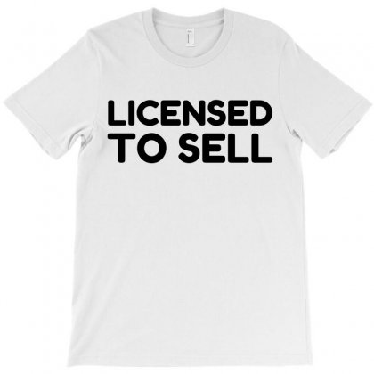 Licensed To Sell T-shirt Designed By Perfect Designers
