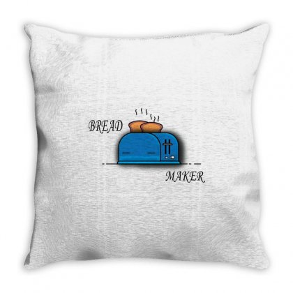 The Real Bread Maker Throw Pillow Designed By Audiprasetya
