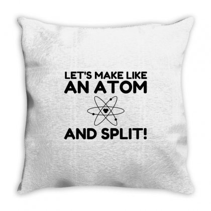 Like An Atom Split Throw Pillow Designed By Perfect Designers