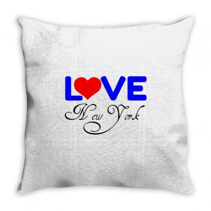 Love New York Throw Pillow Designed By Perfect Designers