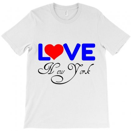 Love New York T-shirt Designed By Perfect Designers