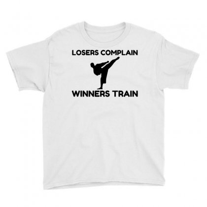 Martial Arts Winners Train Youth Tee Designed By Perfect Designers