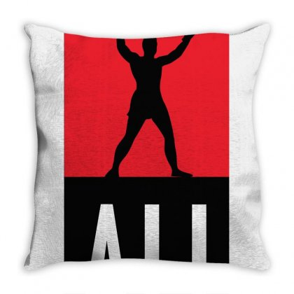 The Greates Ali Throw Pillow Designed By Waroenk Design