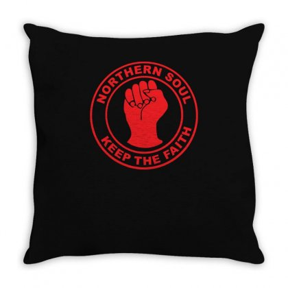 Northern Soul Keep The Faith Long Throw Pillow Designed By Z4hr4