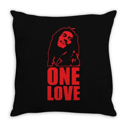 One Love Throw Pillow Designed By Z4hr4