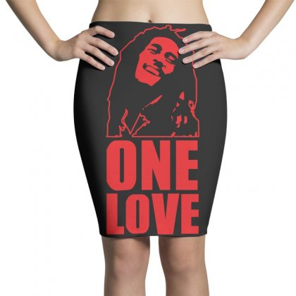 One Love Pencil Skirts Designed By Z4hr4