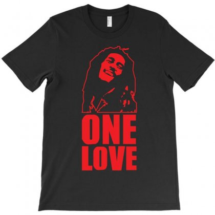 One Love T-shirt Designed By Z4hr4