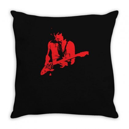 Peter Green Inspired Throw Pillow Designed By Z4hr4
