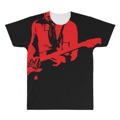Peter Green Inspired All Over Men's T-shirt Designed By Z4hr4