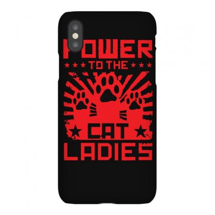 Power To The Cat Ladies Iphonex Case Designed By Z4hr4