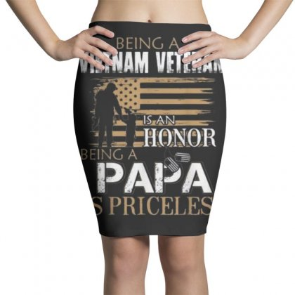 Being Vietnam Veteran Is An Honor Papa Pencil Skirts Designed By Kakashop