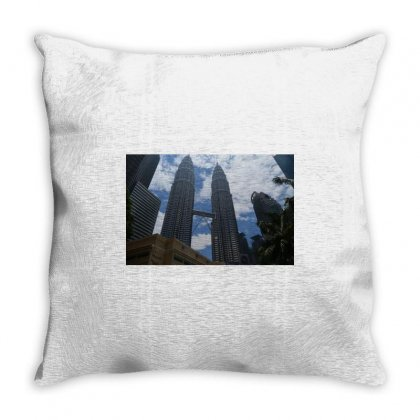Twin Towers Throw Pillow Designed By Rozenfeld919