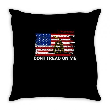 Dont Tread On Me Throw Pillow Designed By Anrora