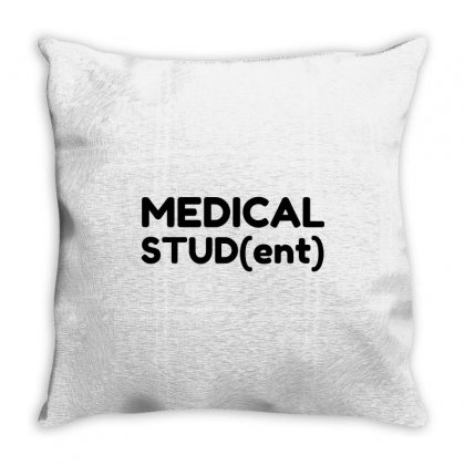 Medical Student Throw Pillow Designed By Perfect Designers