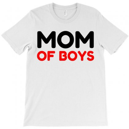 Mom Of Boys T-shirt Designed By Perfect Designers