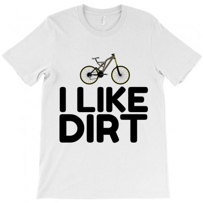 Mountain Bike Dirt T-shirt Designed By Perfect Designers