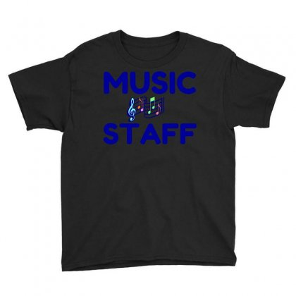 Music Staff Youth Tee Designed By Perfect Designers
