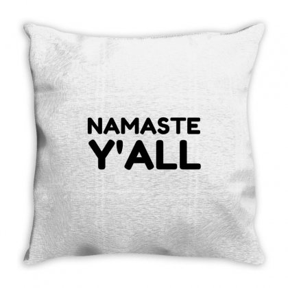 Namaste Yall Throw Pillow Designed By Perfect Designers