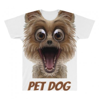 Pet Dog All Over Men's T-shirt Designed By Pet Shop