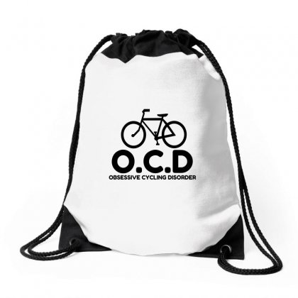 Obsessive Cycling Disorder Drawstring Bags Designed By Perfect Designers
