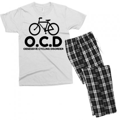 Obsessive Cycling Disorder Men's T-shirt Pajama Set Designed By Perfect Designers