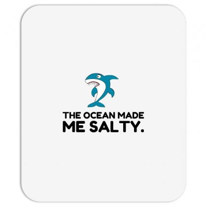 Ocean Made Me Salty Shark Mousepad Designed By Perfect Designers