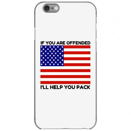 Offended Help You Pack  Usa Flag Iphone 6/6s Case Designed By Perfect Designers