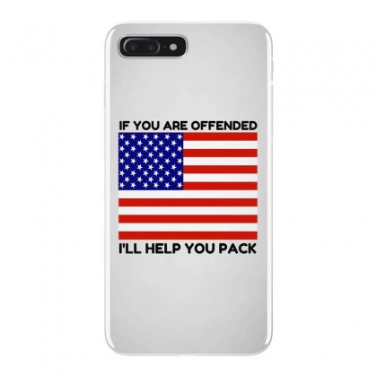 Offended Help You Pack  Usa Flag Iphone 7 Plus Case Designed By Perfect Designers