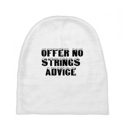 Offer No Strings Advice Baby Beanies Designed By Perfect Designers