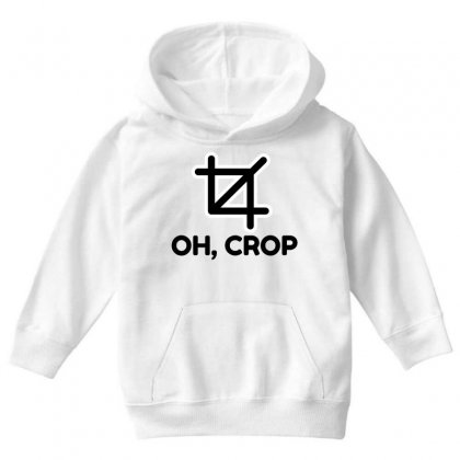 Oh Crop Youth Hoodie Designed By Perfect Designers