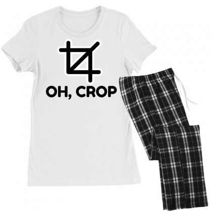 Oh Crop Women's Pajamas Set Designed By Perfect Designers