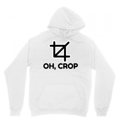 Oh Crop Unisex Hoodie Designed By Perfect Designers