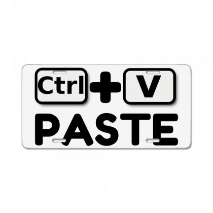 Paste Twins License Plate Designed By Perfect Designers