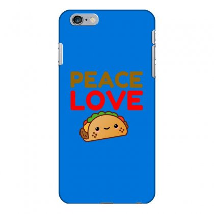 Peace Love Taco Iphone 6 Plus/6s Plus Case Designed By Perfect Designers